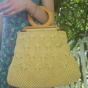 Unknown Bags - Vintage Macrame Purse